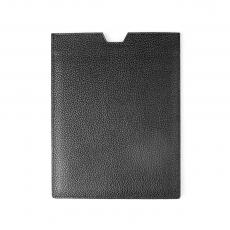 Black Grained Calf Leather IPAD CASE