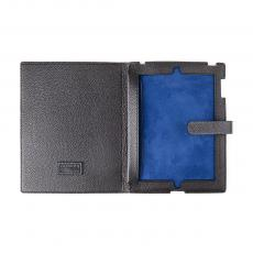Black Grained Calf Leather IPAD COVER