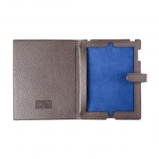 Brown Grained Calf Leather IPAD COVER