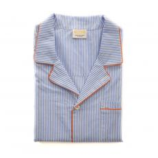 Light Blue Stripes Cotton Pyjama