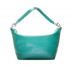 CARAVELLE Medium Acquamarine Leather Travel Bag