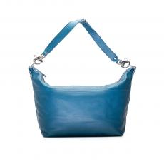 CARAVELLE Medium Blue Leather Travel Bag