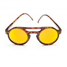 LEMURE Tortoise Frame with Orange Mirrore Lenses