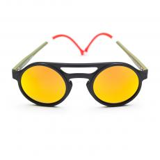 LEMURE Portofino Frame with Orange Mirrored Lenses Limited Edition