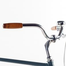 Walnut-Wood Bicycle Grips