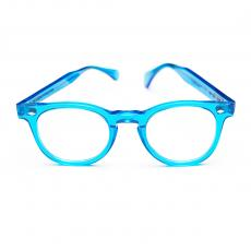 TOSCANI LARGE Fluo Blue Acetate Frame LIMITED EDITION