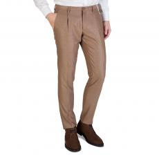 Camel Loro Piana Wool Slim-Fit Trousers