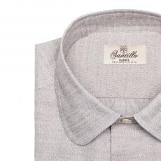 GAGLIOPPO Beige Flannel Radici Patrimonio 1970 Shirt