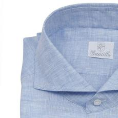 RELEVANCE OF COLOURS Azure Linen Shirt