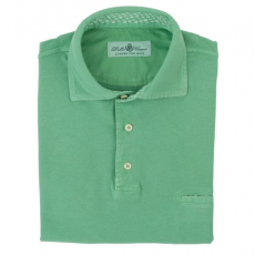 Green 100%Cotton Polo Shirt