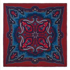 BLACKBERRY RIPASSO Pure Silk Handkerchief
