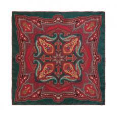 CINNAMON RIPASSO Pure Silk Handkerchief