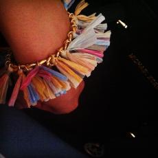 ALOHA HAWAII LIMITED EDITION Gold Plated Chain Bracelet