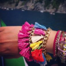 ALOHA RAINBOW LIMITED EDITION Gold Plated Chain Bracelet