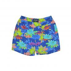 SAINT TROPEZ Mid-Length Swim Shorts