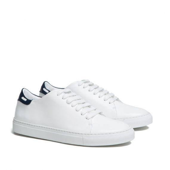 5785ba1c0df7 GIANLUCA GALLO BELLAGIO White Leather Sneakers