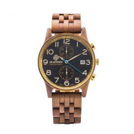 AB AETERNO NUX Walnut Wood Man Chrono Watch