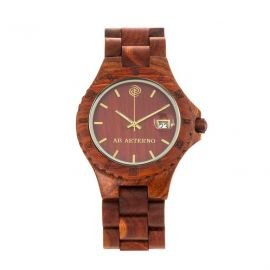 AB AETERNO ROCKY Natural Red Sandalwood Man Watch
