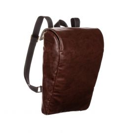 MANTICO Middle Brown Bbag Leatherette Backpack