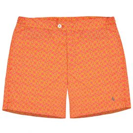 COAST SOCIETY PORFIRIO Papaya Swimshort