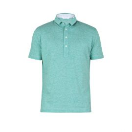 COAST SOCIETY SCOTT Green Polo Shirt