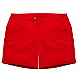 PORFIRIO Cardinal Red Swimshort