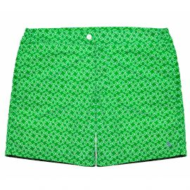 PORFIRIO printcolor Emerald Swimshort