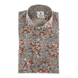 CORDONE 1956 Forte dei Marmi Floral Printed Cotton Limited Edition Shirt
