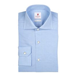 CORDONE 1956 Royal Voile Azure Shirt