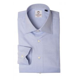 PANAMA Light Azure Cotton Shirt
