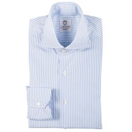 DANDY Azure Stripes Cotton Shirt