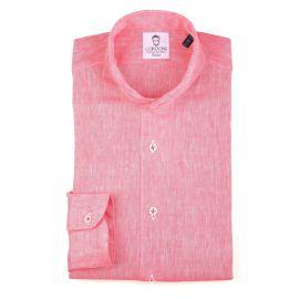 LINEN CORAL Shirt