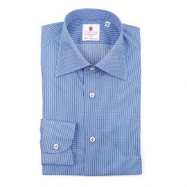 TOKIO Dots Double Twisted Cotton Shirt