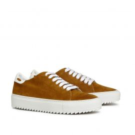 GIANLUCA GALLO RODI Camel Suede Sneakers