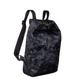 MANTICO Zayn8 Outdoor Addicted Black and Grey Camouflage Backpack