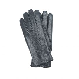 Black Deerskin Gloves