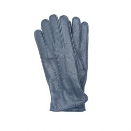 Blue Deerskin Gloves