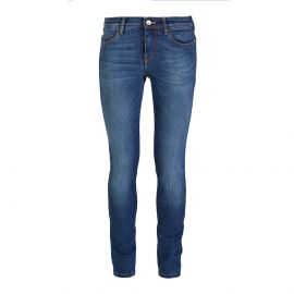 YLENIA Regular Blue Jeans