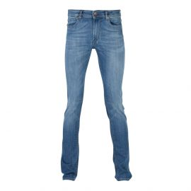 RUBENS Light Blue Washed Denim Regular-Fit Jeans