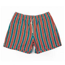 RIPA RIPA Monterosso Orange and Green Printed Swim Shorts