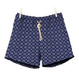 RIPA RIPA Scirocco Blue Printed Swim Shorts