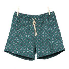 RIPA RIPA Scirocco Green Printed Swim Shorts