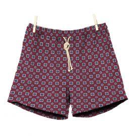 RIPA RIPA Scirocco Red Printed Swim Shorts
