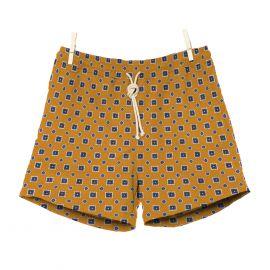 RIPA RIPA Scirocco Yellow Printed Swim Shorts