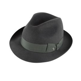 ROMA Grey Fedora Hat