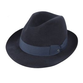 ROMA Blue Fedora Hat
