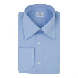 BRERA Azure Muslin Cotton Shirt