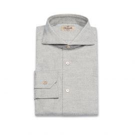 GAGLIOPPO Grey Flannel Radici Patrimonio 1970 Shirt