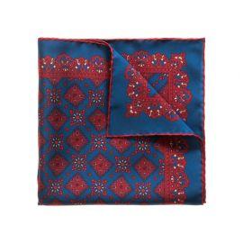 BLUEBERRY AMARONE Pure Silk Handkerchief