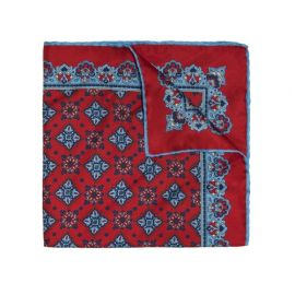 LICORICE AMARONE Pure Silk Handkerchief